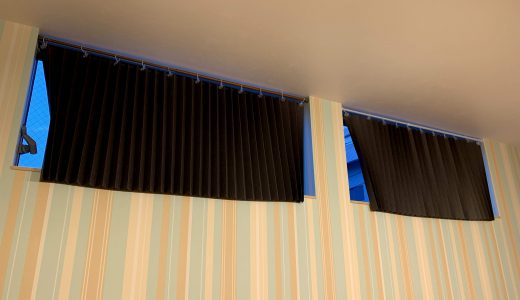 【DIY】IKEAの遮光プリーツブラインドを改造して寝室のカーテンにする【格安】